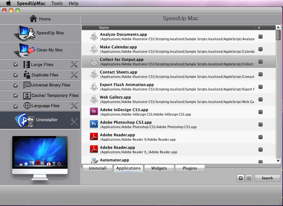 speedup mac uninstaller