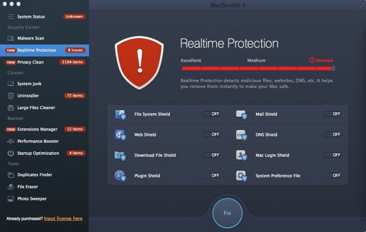 real time protection