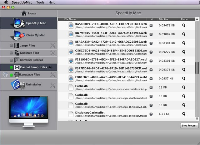 speedup mac interface